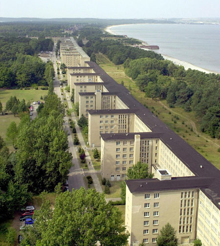 nazi resort in prora germany turned into youth hostel