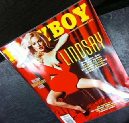 Playboy Re-shoots Nude Photographs of Lindsay Lohan