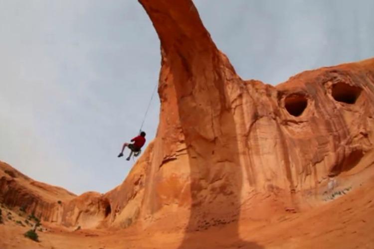 Video The World S Biggest Rope Swing Tnt Magazine