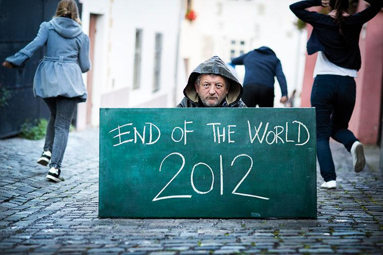 The end is nigh... or is it? As the Mayan calendar predicts ...