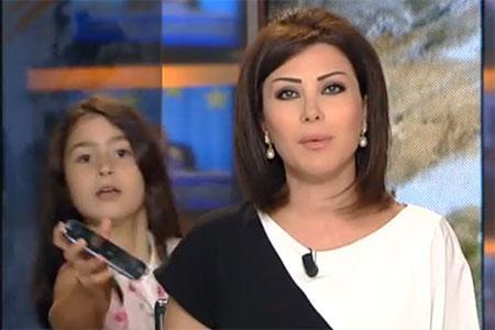 Video Newsreader S Daughter Interrupts Live Broadcast On Moroccan Tv Tnt Magazine