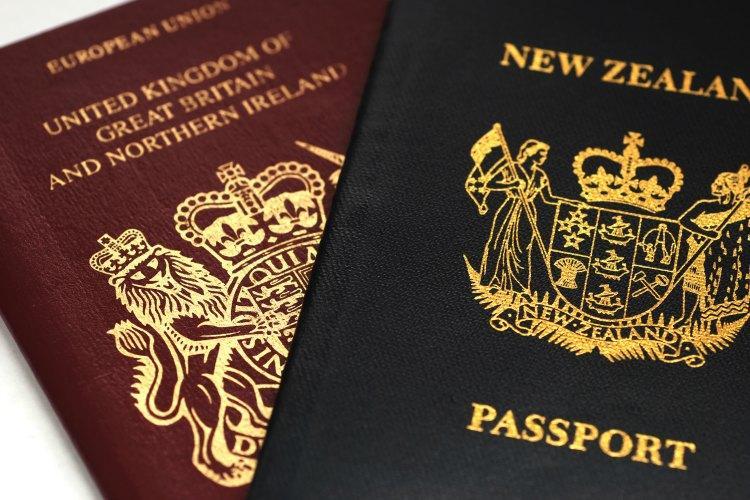 nz passport application in australaia