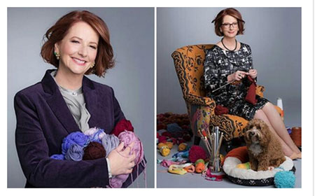 Kangaroo Knitting Pattern Julia Gillard : Thank roo and goodbye! Julia Gillards top 5 memorable moments - TNT Maga...
