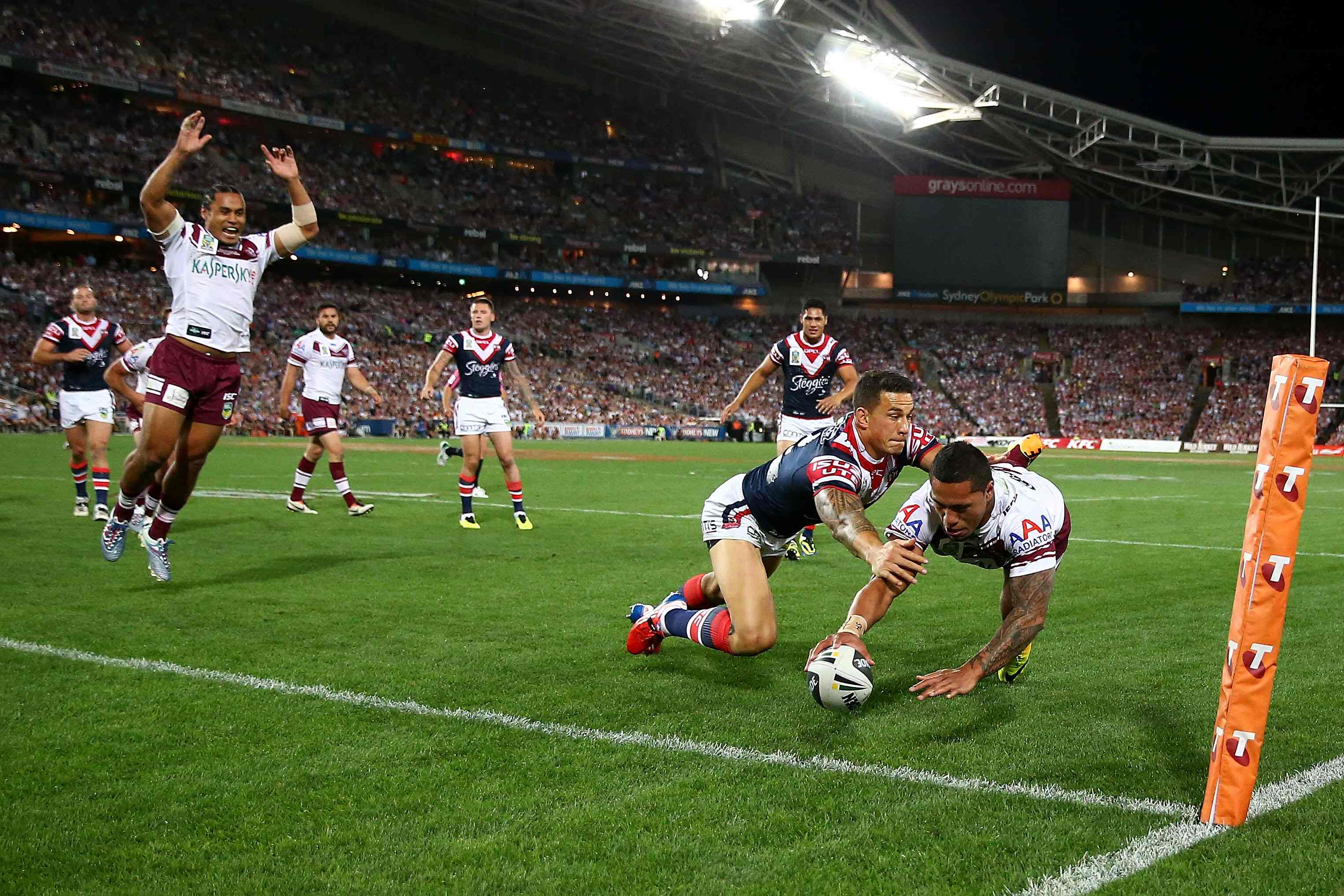 Sonny Bill Williams Wallpaper: NRL Grand Final: Sydney Roosters Come From Behind To Claim